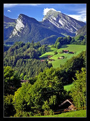 The Simmental at Latterbach, Switzerland - 1994 (sjb4photos) Tags: geotagged schweiz switzerland suisse swissalps simmental vosplusbellesphotos goldpawaward bronzepawaward