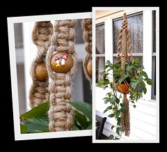 Shroooms Single (Macramaking- Natural Macrame Plant Hangers) Tags: plants mountains tree mushroom beauty hippies vintage happy idea beads spring pretty basket natural handmade unique decorative character cottage creative fluffy curls northcarolina funky deck gift porch shelby 70s hanging balance flowing chic birthdaygift weavers groovy weddinggift knots shrooms sunroom swirly beachhouse detailed christmasgift hangingbasket shabby twisting artscrafts jute containergardening macram planthanger alternating mothersdaygifts macramakin macramaking 5plyjute chinesecrownknot