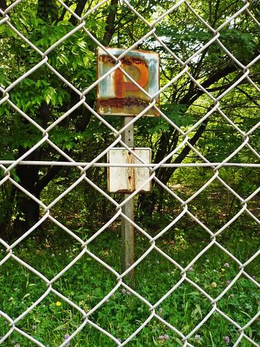 Vintage Parking Sign 2009