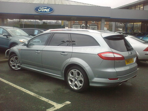 Ford Mondeo Titanium Estate. Our new car - Ford Mondeo