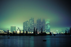 (jim_213) Tags: sea sky mist buildings hongkong ship dream sigma nightview habour dp2 41mm