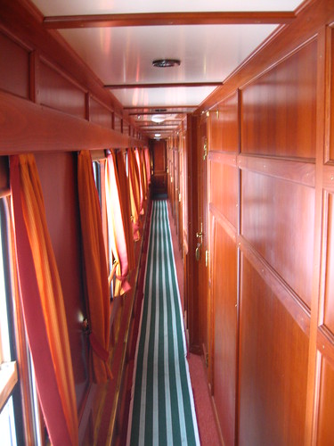 European heritage train for charters - corridor, premium sleeper