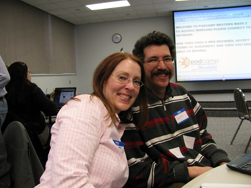 Me and @Ron_Miller at PodCamp WM 2/6/10