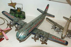 tin boeing stratocruiser (lastdollarventures) Tags: japan museum toy tin yokohama boeing stratocruiser