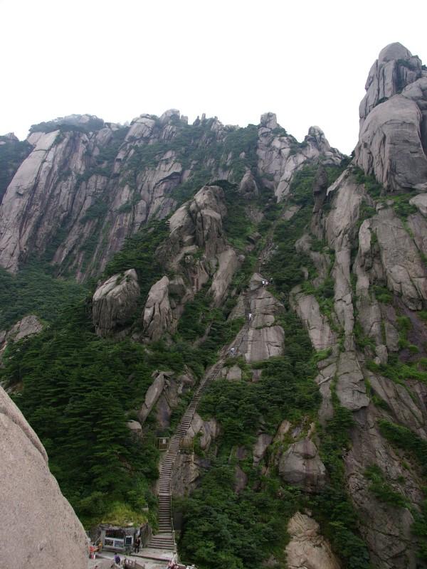 2009台灣腳遊黃山