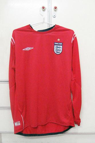 England 2004/2006 Away L/S