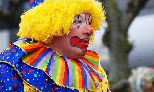faces of carnival - clown
