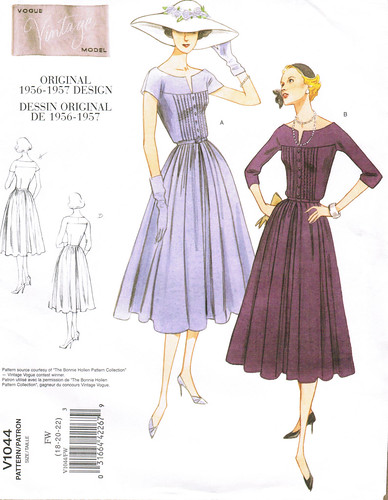 Vogue 1044 dresses front image