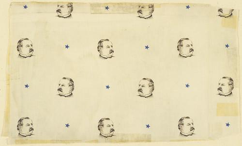 Cleveland Portrait Textile, ca. 1884