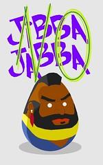 Mr T Egg (redlightbulbs) Tags: easter t mr egg foo mister fool embryo yolk pity ovum