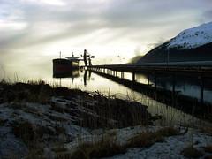 Seward Coal Facility: Ship and Conveyer