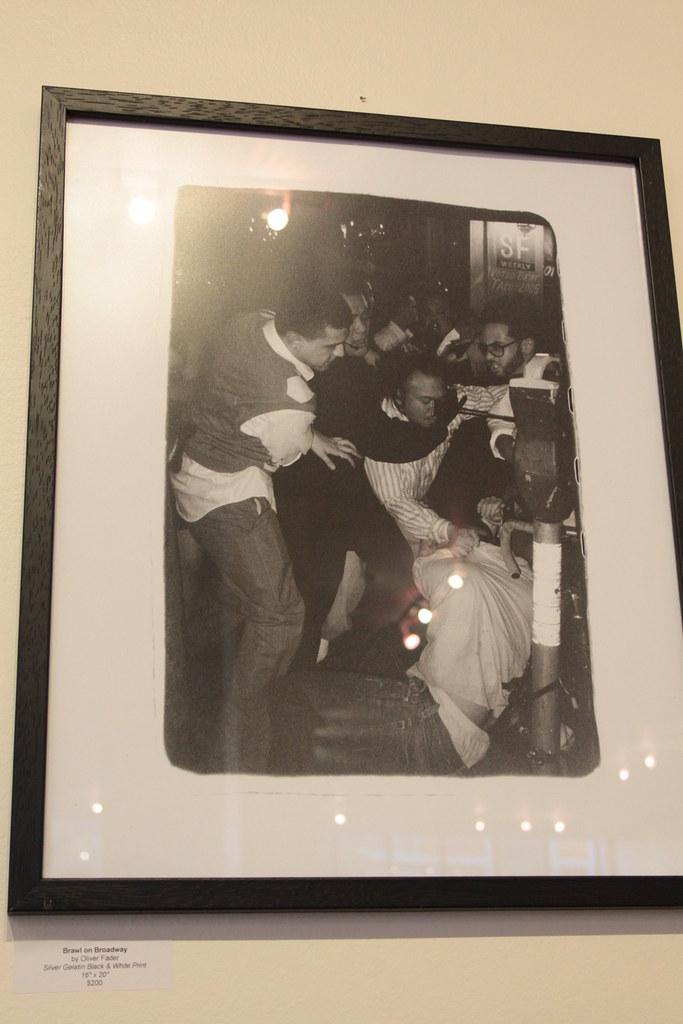 Brawl on Broadway by Oliver Fader - $200