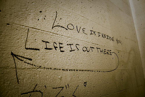 Love is inside you, love is out there
