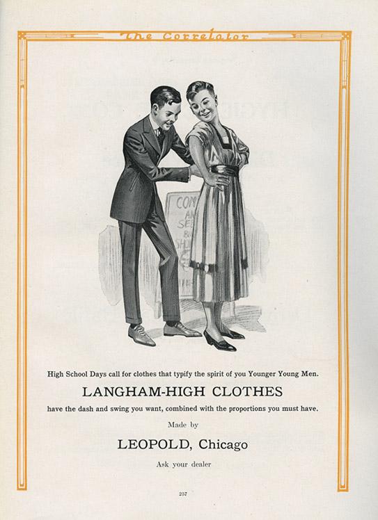 1919 yearbook ad_tatteredandlost