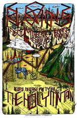 Flexions Record Release Poster, May 9th 2009, Seattle, WA (hydEON) Tags: seattle mountain illustration poster ian design katherine voice holy wa ferguson foscil hepburns nannon flexions hydeon hydeonart henari