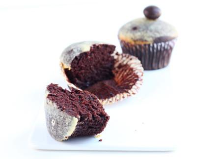 Cupcakes de xocolata i mascarpone