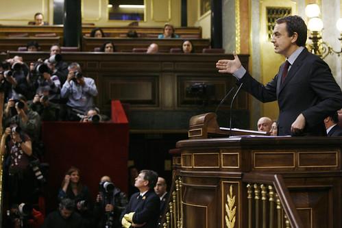 Zapatero en el debate
