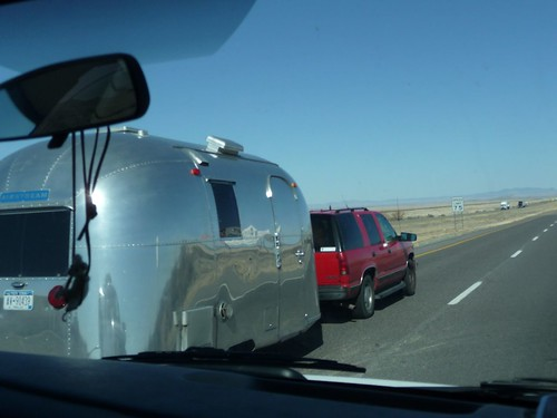 airstreams on the I-10.