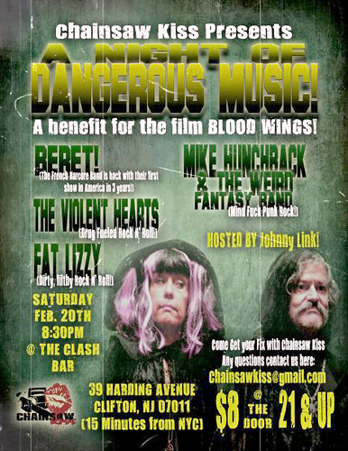 Chainsaw Kiss Benefit