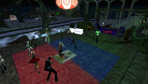 second life haiti fundraiser