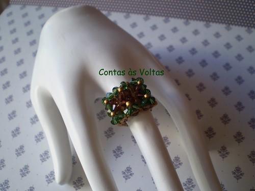 543 :) anel de cristais