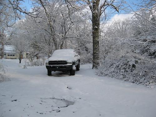 My neighbor's truck