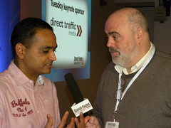 Greg Jarboe, SEO-PR, interviews SES London 201...