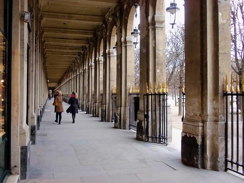 Palais Royale colonnade