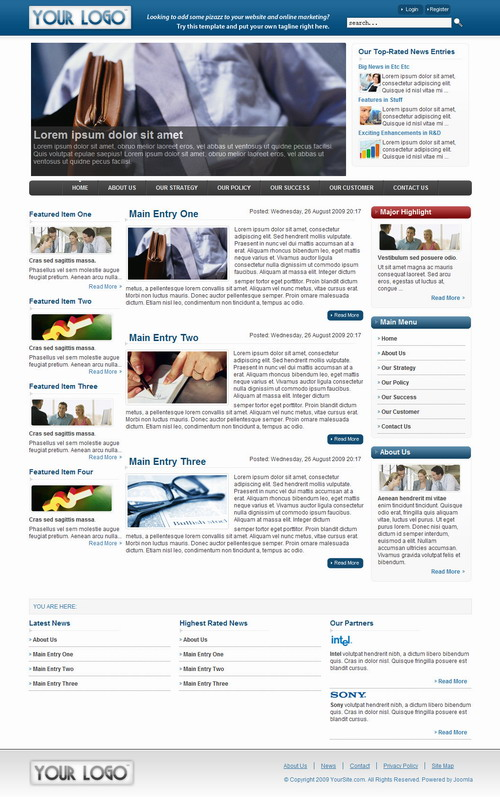 Business � Joomagic Joomla! Template