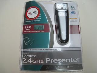 Logitech 2.4 GHz Cordless Presenter