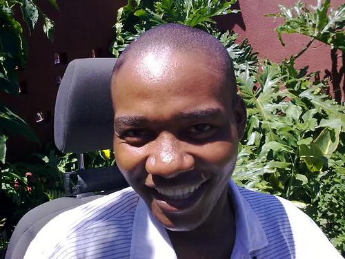 Moses Mlombo chairman of Ama Wheelies