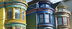 Victorian Row (revger) Tags: houses colors paint victorian
