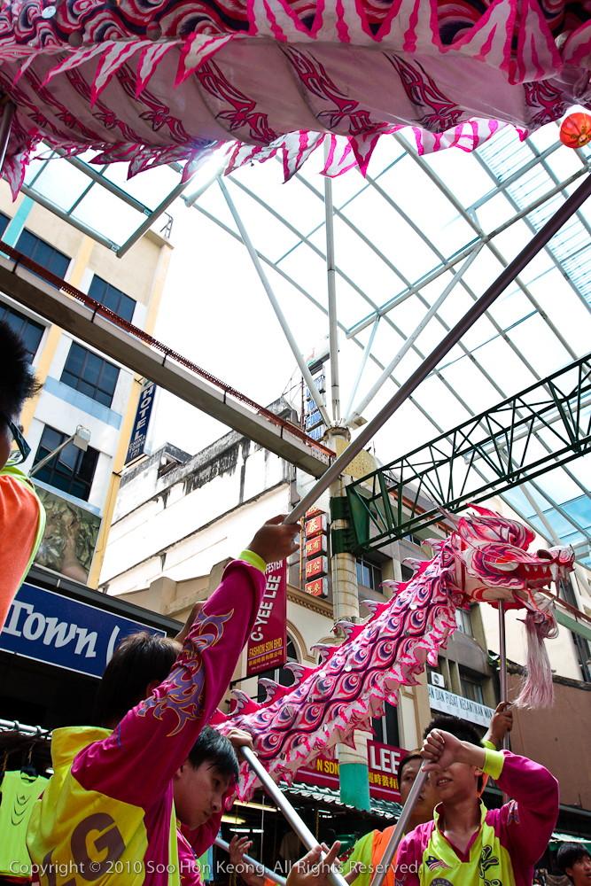 Dragon Dance @ Petaling Street, KL, Malaysia