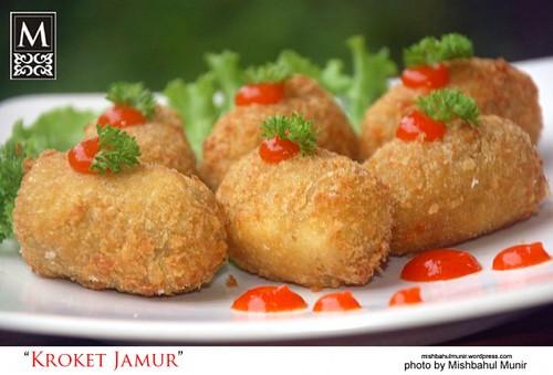 Foto Menu Makanan berbahan dasar utama Jamur (Mushroom Delicious Meals | Photography)