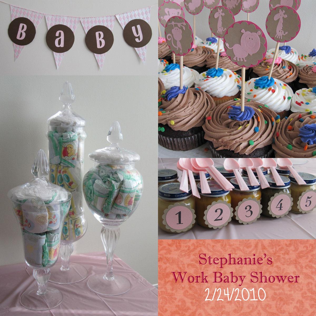 StephanieWorkBabyShowerCollage