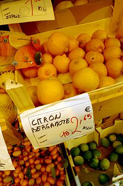 citron bergamot