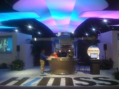 Entrance to the HIMSS Interoperability Showcase