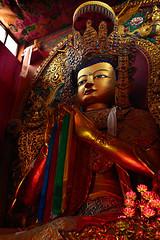 Bodhinath Stupa (Sunrider007) Tags: nepal statue canon temple shrine buddha stupa buddhism altar kathmandu bodhi 24105 bodhinath 5d2 5dmkii