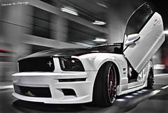 Mustang GT - Rig Shot (Marwan AL-Marzugy) Tags: door red white speed bag stars star 22 shot body air first rig shelby kit mustang jeddah gt ahmed marwan makkah saleen lambo asanti lexani my aveno almarzugy