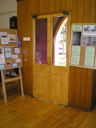 Doors in Stratford Museum