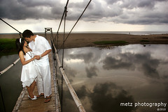 Prewedding andika&amy (memet metz) Tags: wedding sky bali reflection beach couple photographer romantic casual pantai prewedding canggu prawedding metzphotography andikaamy