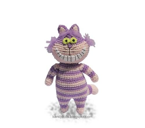 Cheshire cat Amigurumi crochet pattern - a photo on Flickriver