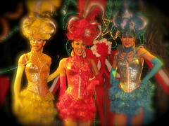 Thai Ladyboy Cabaret. (konstantynowicz) Tags: girls boy red colour boys girl beautiful smile face lady night canon hair thailand island happy gold star golden evening costume interesting glamour pretty colours dress bright jewelry east musical thai chaweng grin colourful cabaret ornate kosamui fareast far dressed starz ladyboy ladyboys