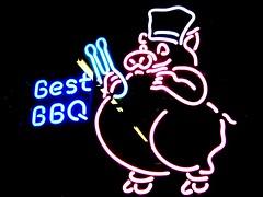 NC BBQ sign
