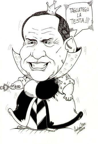 Berlusconi regina di cuori