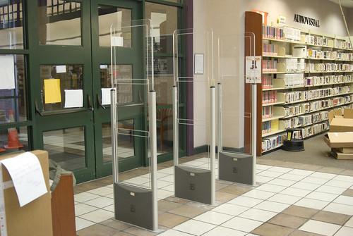 MPL's new RFID gates