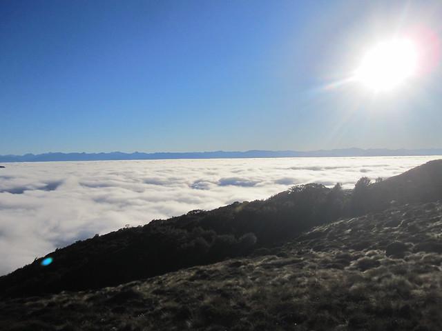 Kepler Trek 66 - Morning view from Luxmore Hut by Ben Beiske