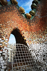 Casa Batll: Roof (tiffany garritano) Tags: barcelona spain gaudi casabatll