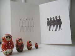 people (Kristyna Litten) Tags: zine illustration lyrics hour