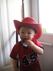 Little Cowboy (travisandmitzi) Tags: cowboyhat littlecowboy